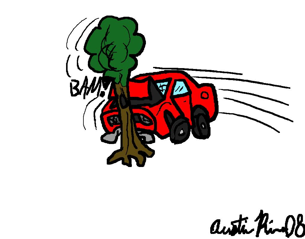 how to make a car crash