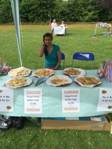 Cookie stall
